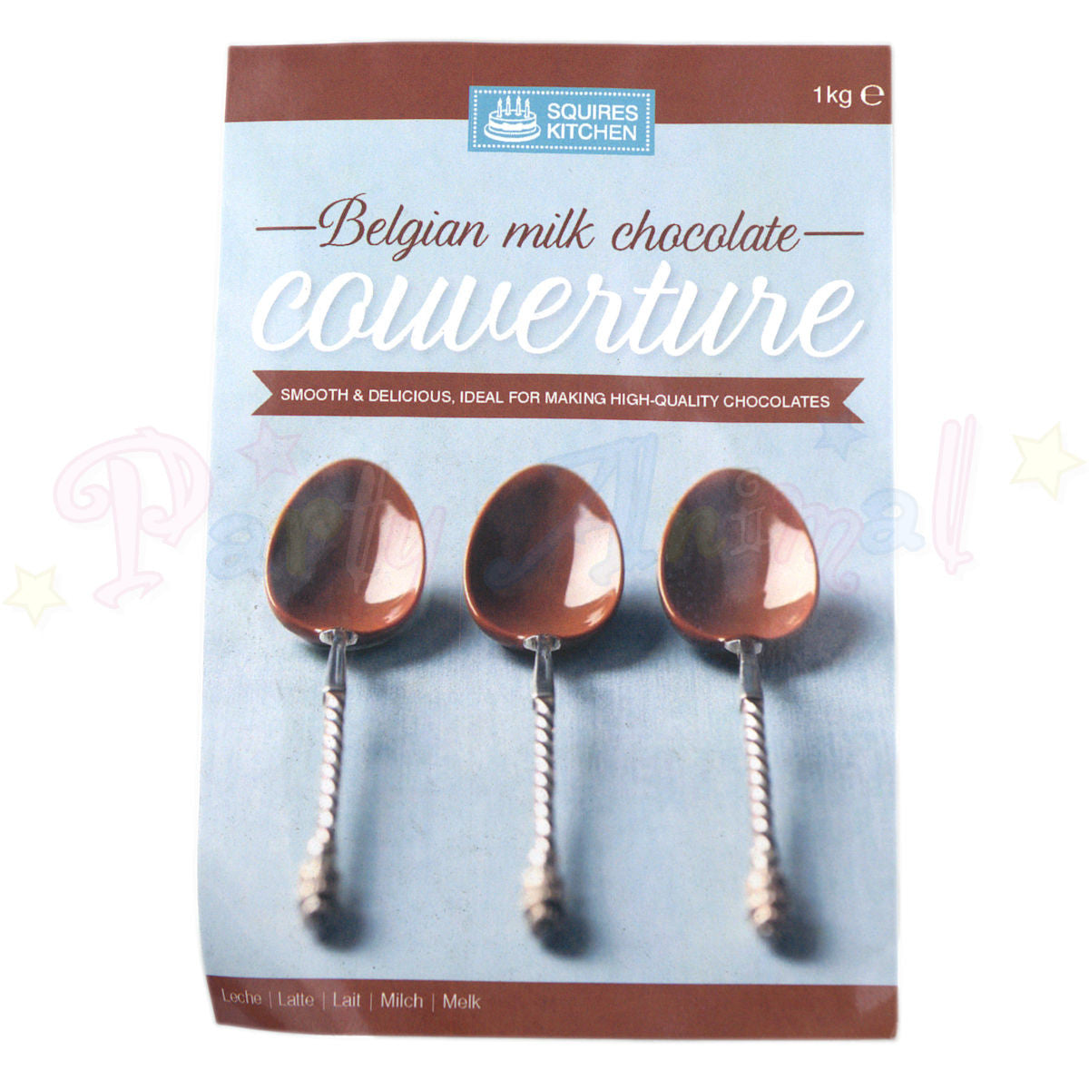 Couverture - Belgian Milk Chocolate - 1kg Pack