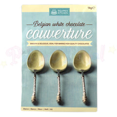 Couverture - Belgian White Chocolate - 1kg Pack