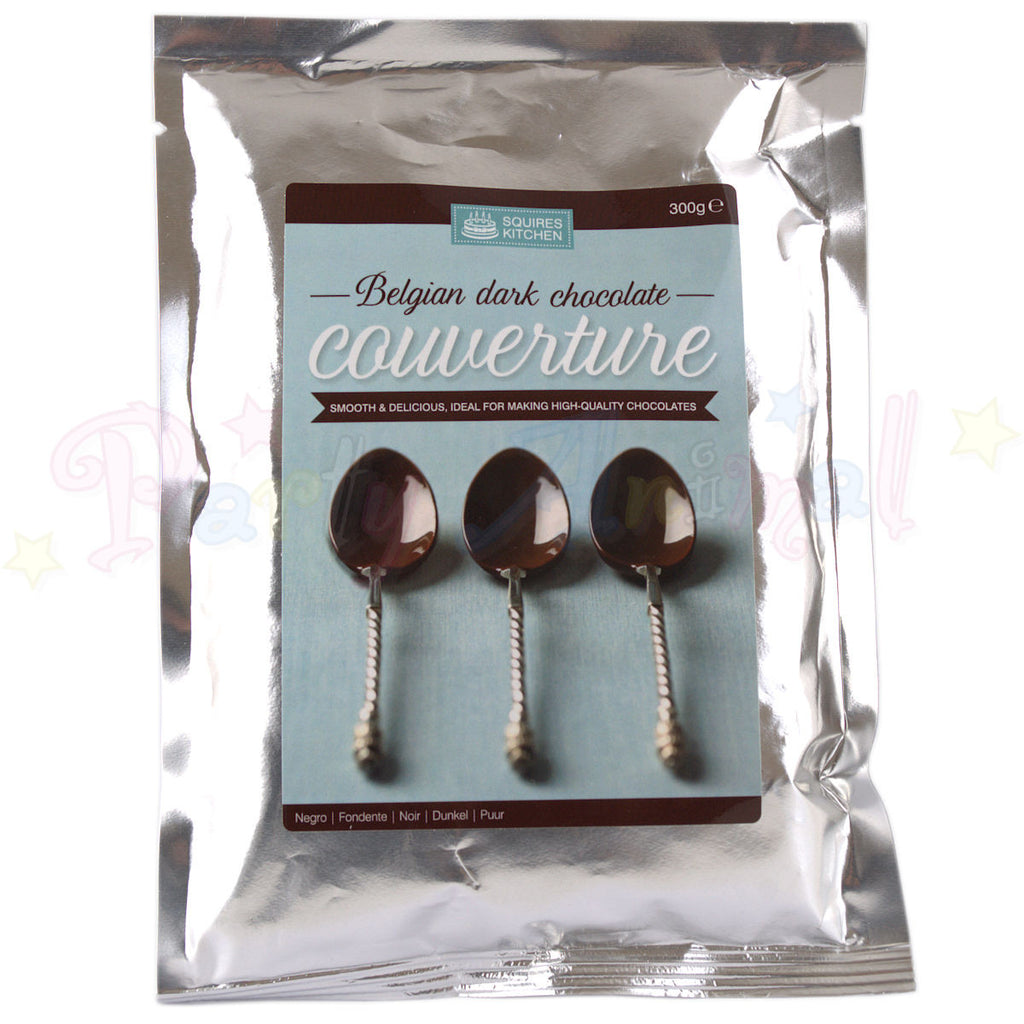 Couverture - Belgian Dark Chocolate - 300g Pack