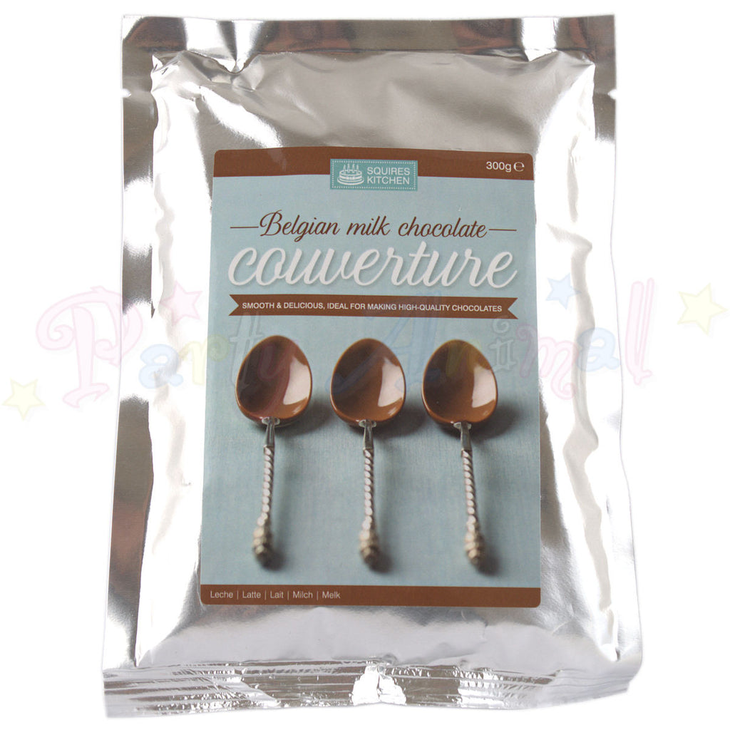 Couverture - Belgian Milk Chocolate - 300g Pack
