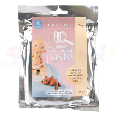 Carlos Lischetti High Definition Sugar Modelling Paste - Beige