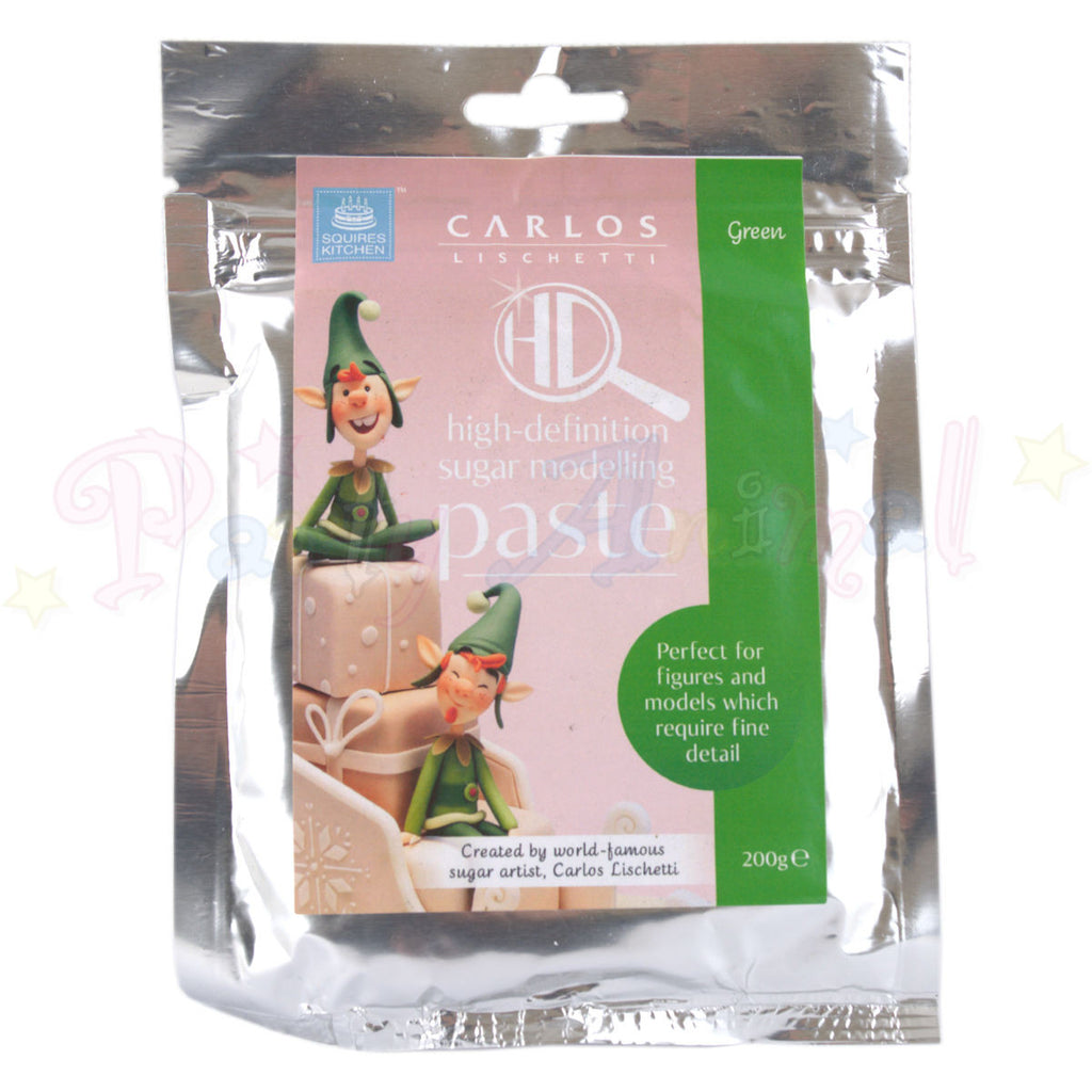 Carlos Lischetti High Definition Sugar Modelling Paste - Green