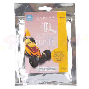 Carlos Lischetti High Definition Sugar Modelling Paste - Yellow