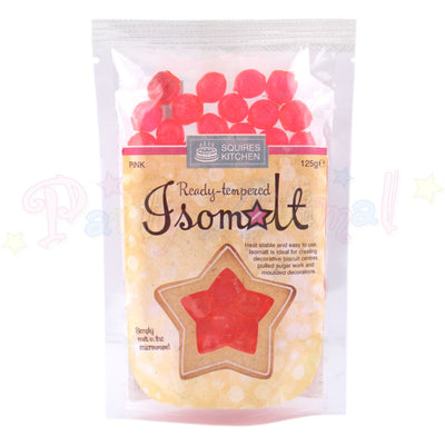 Isomalt Ready Tempered - Pink 125g Pack