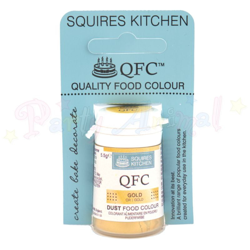 Squires Kitchen Edible Lustre Powder GOLD