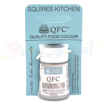 Squires Kitchen Edible Lustre Powder SILVER
