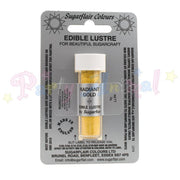 Sugarflair Edible Lustre Dusts RADIANT GOLD Food Colour Powder