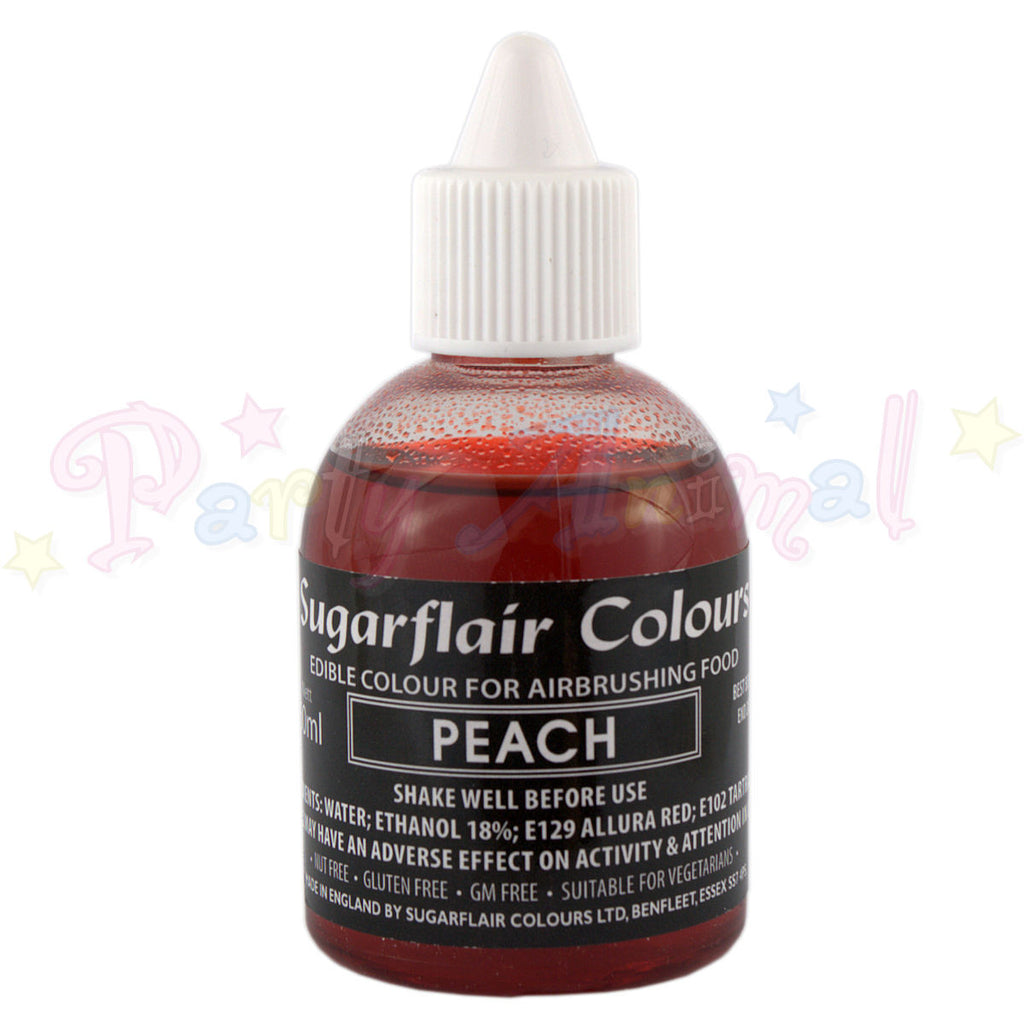 Sugarflair Airbrush Colours for Cake Decoration - Peach