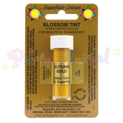 Sugarflair Colours AUTUMN GOLD Blossom Tint Dusting Powder