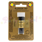 Sugarflair Colours BLACK Blossom Tint Dusting Powder