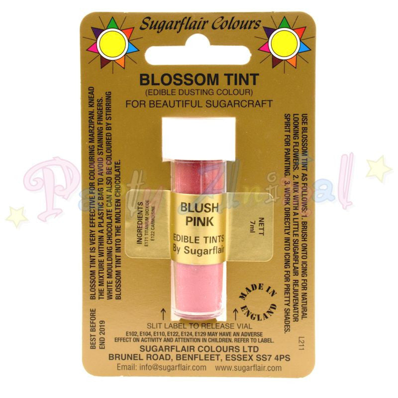 Sugarflair Colours BLUSH PINK Blossom Tint Dusting Powder