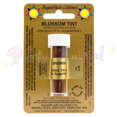 Sugarflair Colours BROWN Blossom Tint Dusting Powder