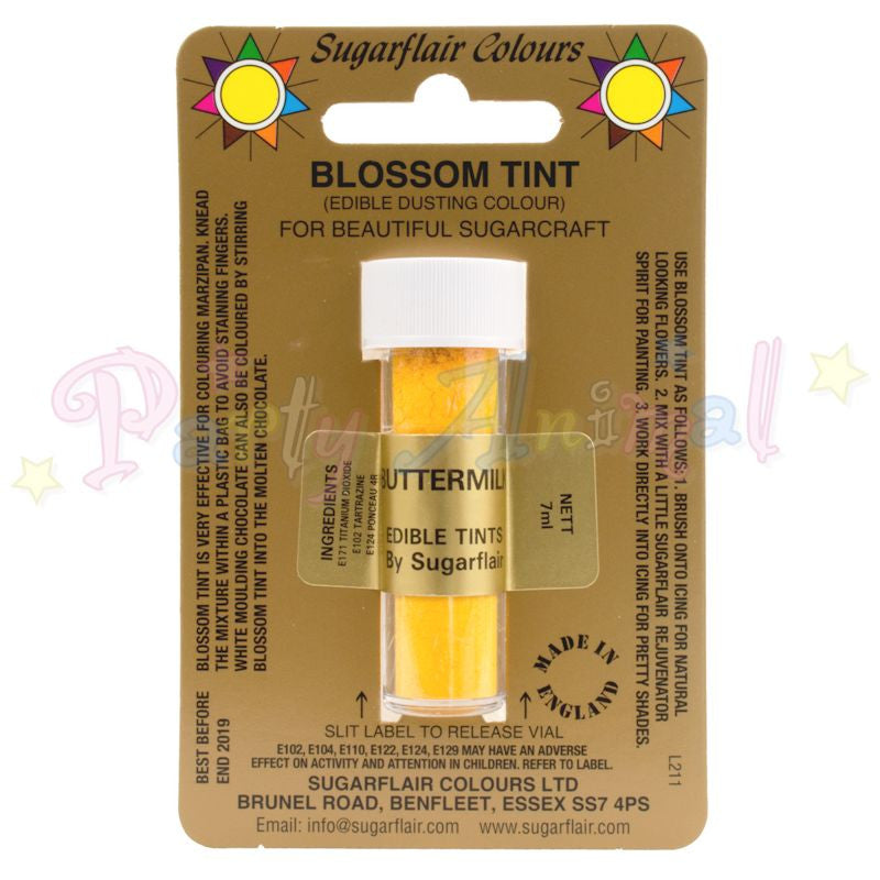 Sugarflair Colours BUTTERMILK Blossom Tint Dusting Powder