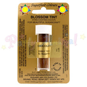 Sugarflair Colours CHOCOLATE BROWN Blossom Tint Dusting Powder