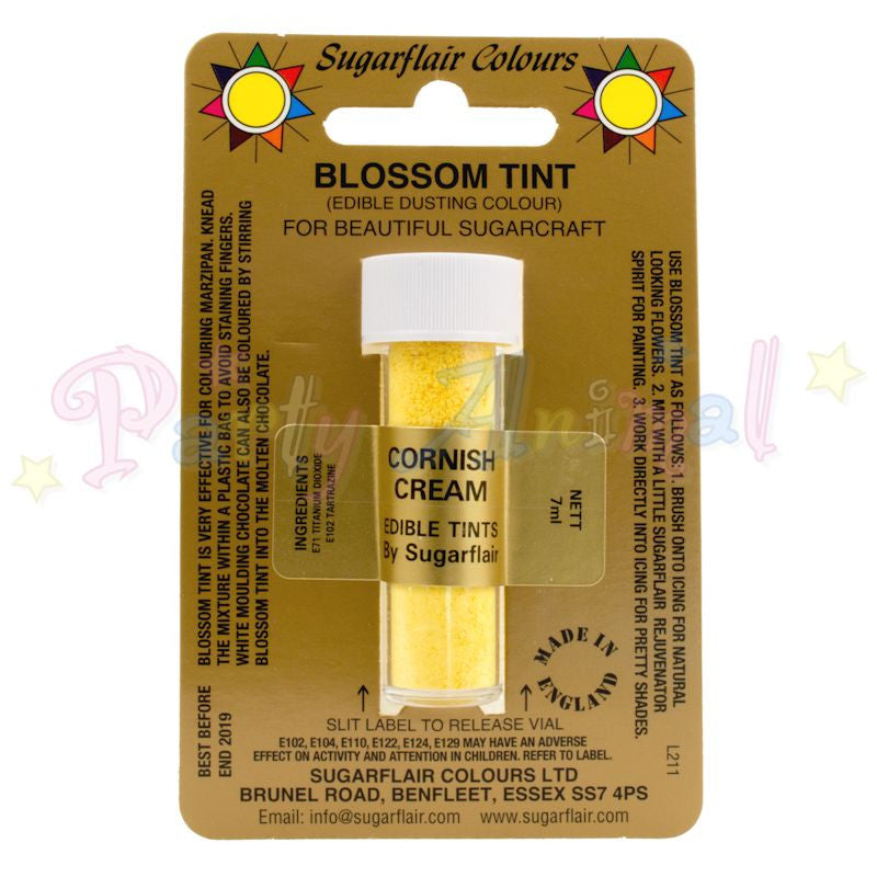 Sugarflair Colours CORNISH CREAM Blossom Tint Dusting Powder