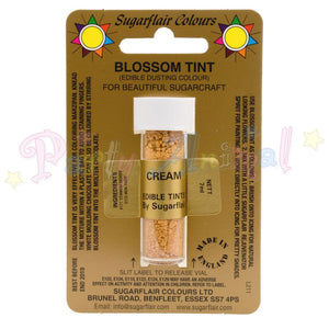 Sugarflair Colours CREAM Blossom Tint Dusting Powder