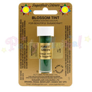 Sugarflair Colours FOREST GREEN Blossom Tint Dusting Powder