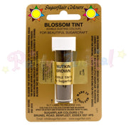 Sugarflair Colours NUTKIN BROWN Blossom Tint Dusting Powder