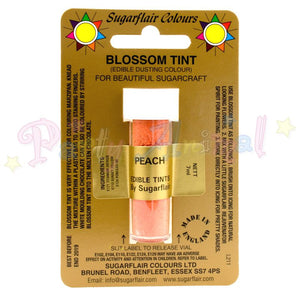 Sugarflair Colours PEACH Blossom Tint Dusting Powder