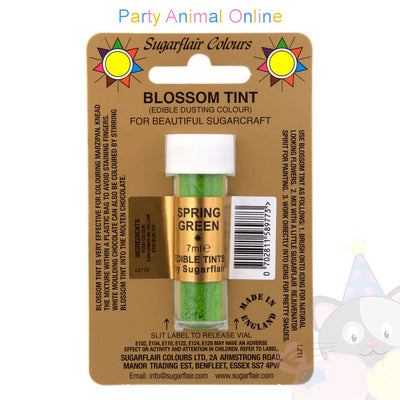 Sugarflair Colours SPRING GREEN Blossom Tint Dusting Powder