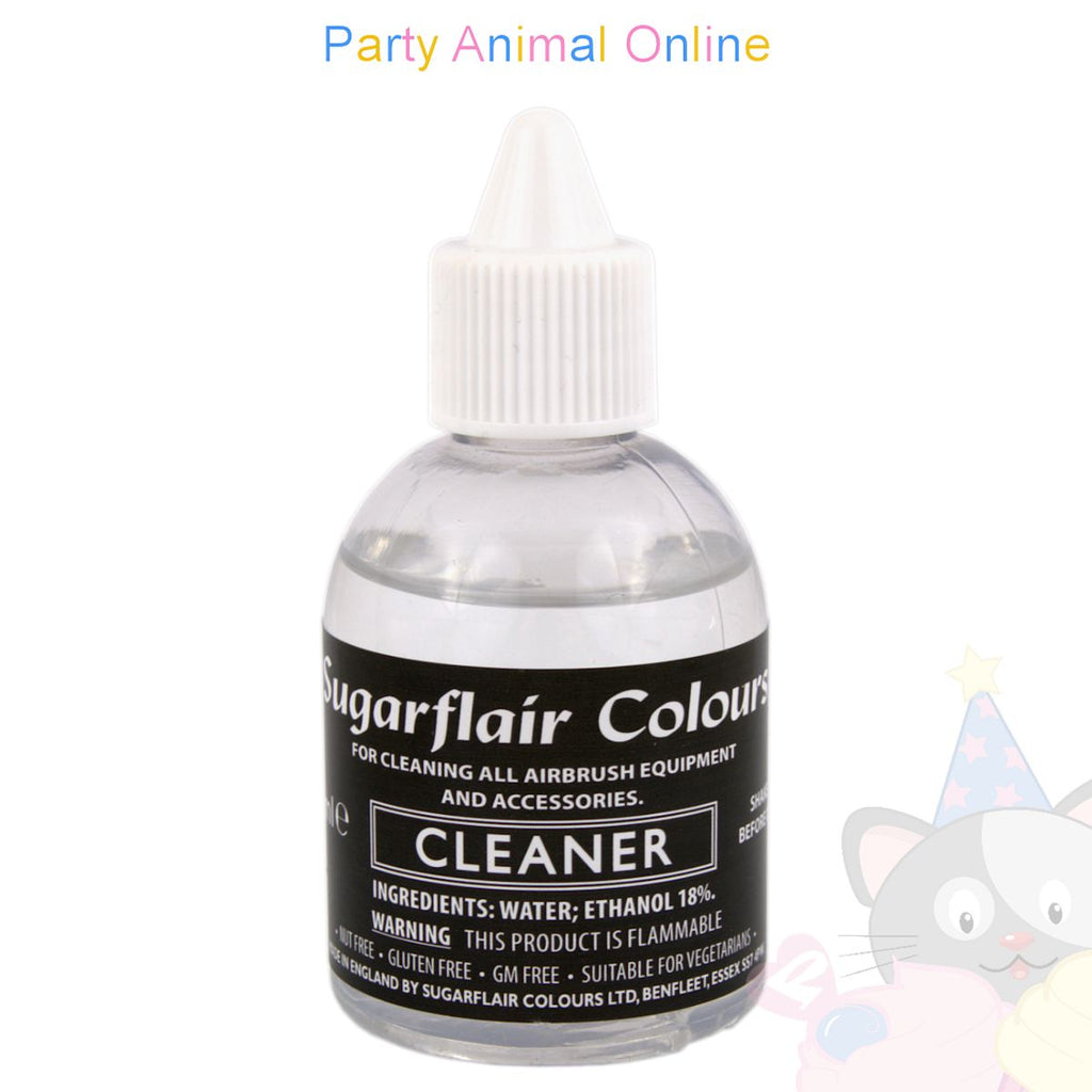 Sugarflair Cleaner for Airbrush, Equipment and Accessories