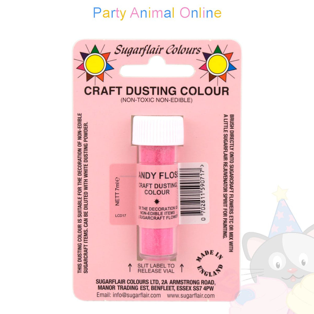 Sugarflair Colours Dusting Colour CRAFT RANGE - Candy Floss