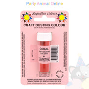 Sugarflair Colours Dusting Colour CRAFT RANGE - Coral