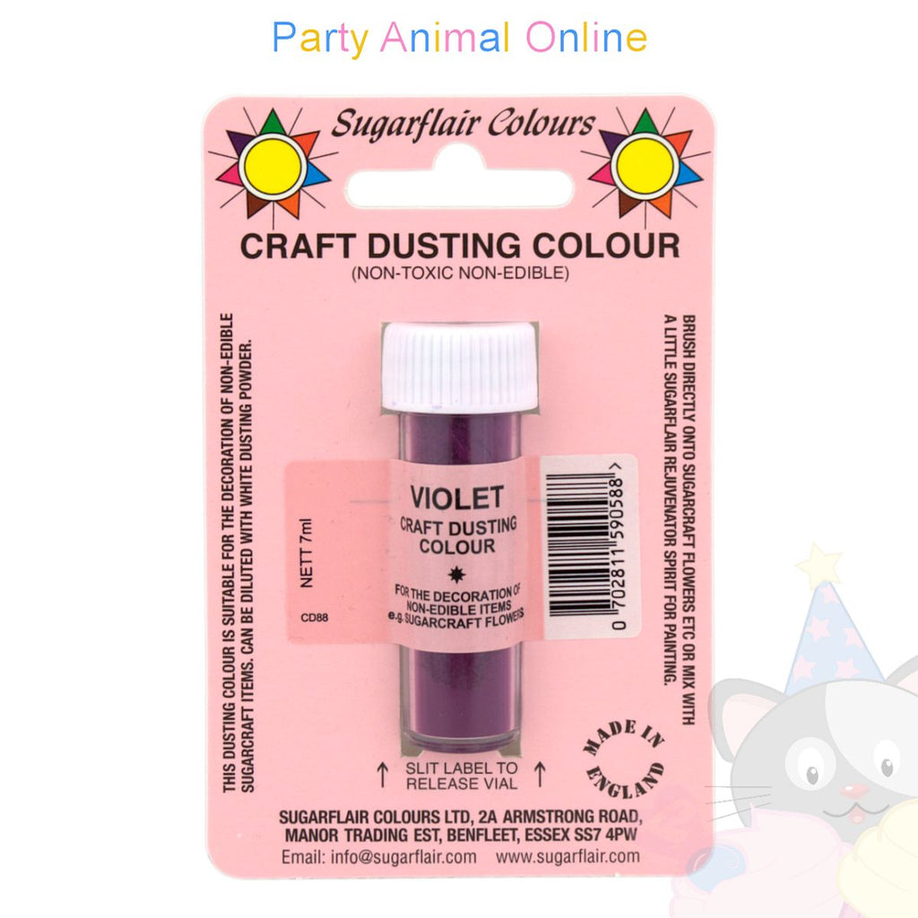Sugarflair Colours Dusting Colour CRAFT RANGE - Violet
