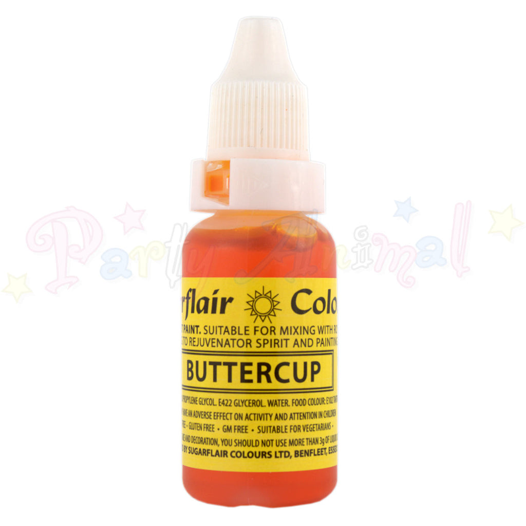 Sugarflair Sugartint Liquid Food Colour Droplets - Buttercup