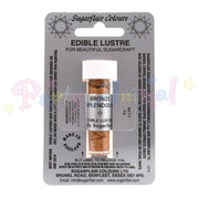 Sugarflair Edible Lustre Dusts BRONZE SPLENDOUR Food Colour Powder