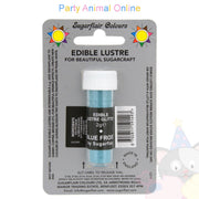 Sugarflair Edible Lustre Glitter Dusts - Blue Frost
