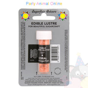 Sugarflair Edible Lustre Glitter Dusts - Coral