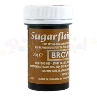 Sugarflair Food Colour Paint - BROWN