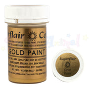 Sugarflair Food Colour Paint - GOLD