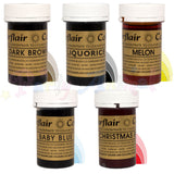 Sugarflair PASTE / GEL Food Colours - BEGINNERS Set of 5
