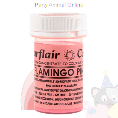 Sugarflair Spectral Paste FLAMINGO PINK Food Colour