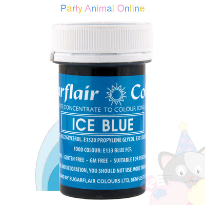 Sugarflair Spectral Paste ICE BLUE Food Colour