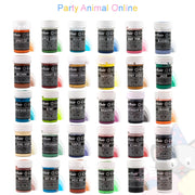 Sugarflair PASTEL PASTE Edible Food Colouring - Set of 30 Colours