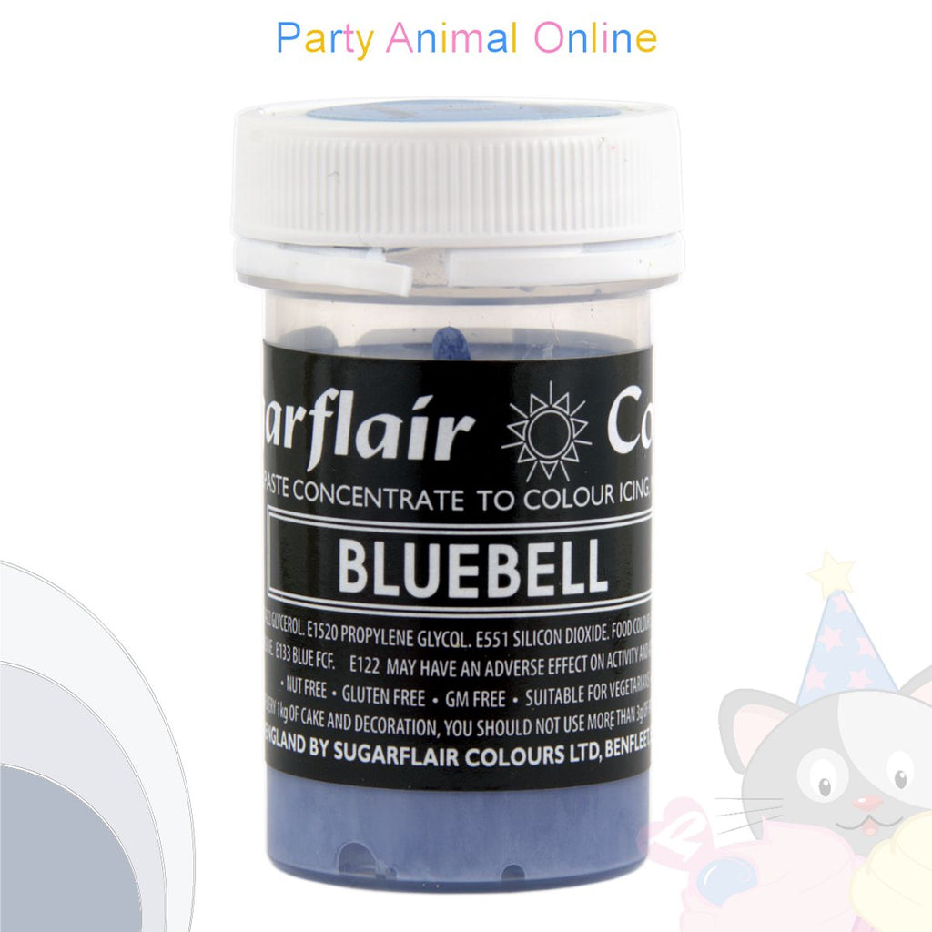 Sugarflair Pastel Paste Food Colour - PASTEL BLUEBELL