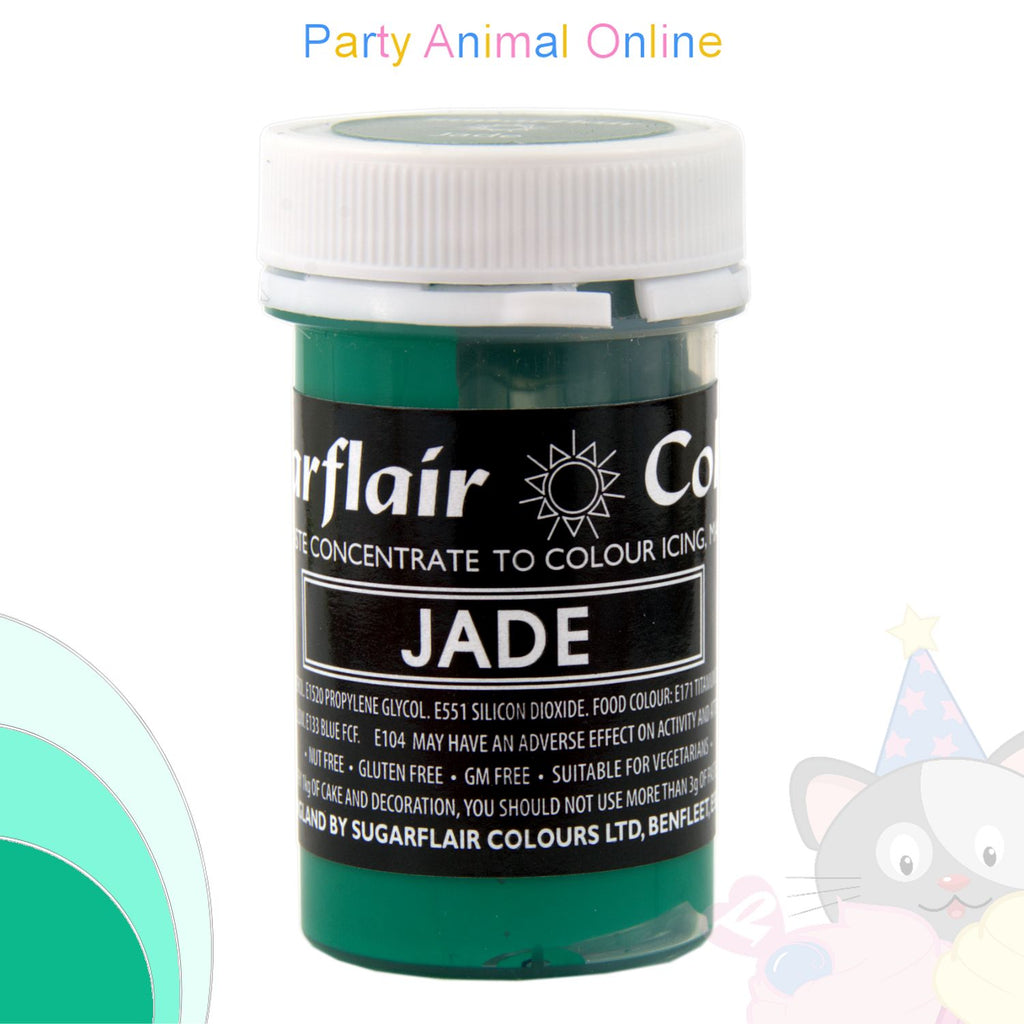 Sugarflair Pastel Paste Food Colour - PASTEL JADE