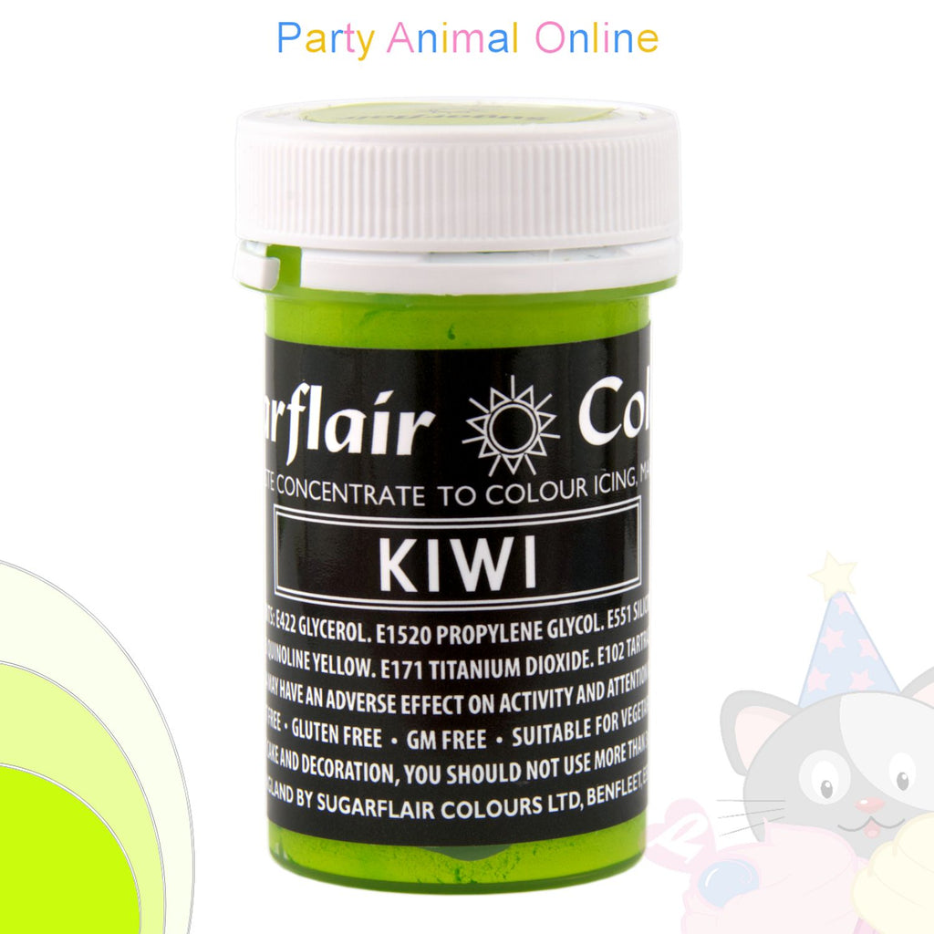 Sugarflair Pastel Paste Food Colour - PASTEL KIWI GREEN