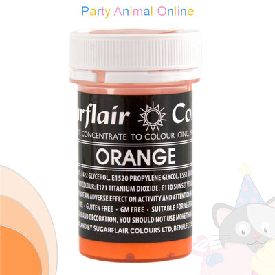 Sugarflair Pastel Paste Food Colour - PASTEL ORANGE