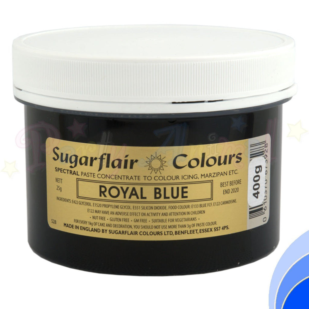 Sugarflair Spectral Paste ROYAL BLUE Food Colour - BULK 400g