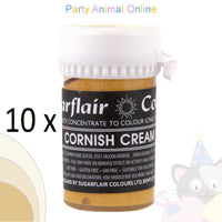 Sugarflair Pastel Paste Food Colour - CORNISH CREAM