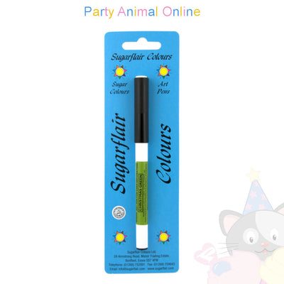 Sugarflair Edible Ink Food Colour Pens - CHRISTMAS GREEN