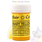 Sugarflair Spectral Paste CANARY YELLOW Food Colour