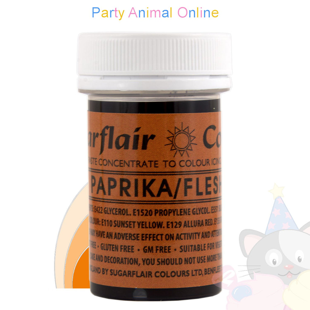 Sugarflair Spectral Paste PAPRIKA / FLESH Food Colour