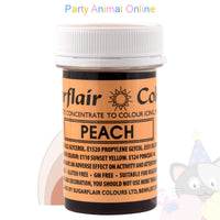 Sugarflair Spectral Paste PEACH Food Colour