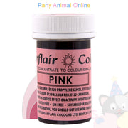 Sugarflair Spectral Paste PINK Food Colour