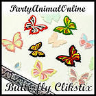 Windsor Clikstix Multi BUTTERFLY Shape Cutters with Ejector